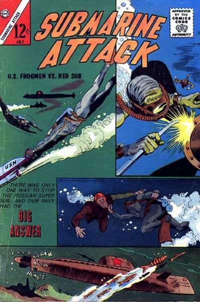 Cover for Submarine Attack (Charlton, 1958 series) #40
