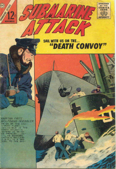 Cover for Submarine Attack (Charlton, 1958 series) #42