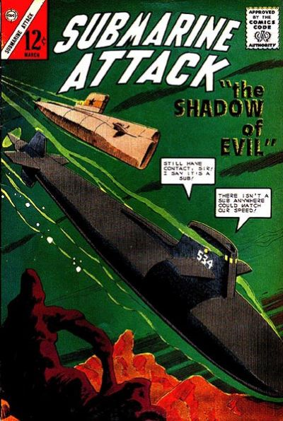 Cover for Submarine Attack (Charlton, 1958 series) #44