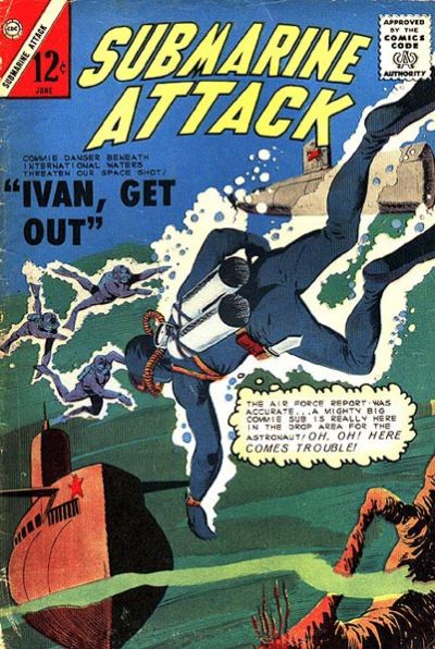 Cover for Submarine Attack (Charlton, 1958 series) #45