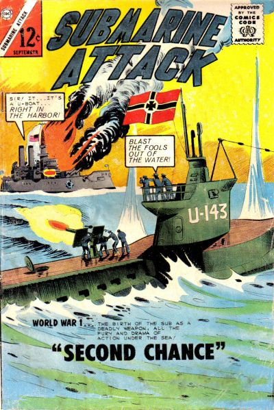 Cover for Submarine Attack (Charlton, 1958 series) #46