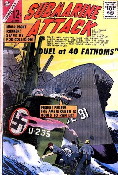 Cover for Submarine Attack (Charlton, 1958 series) #48