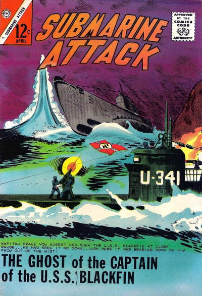 Cover for Submarine Attack (Charlton, 1958 series) #49