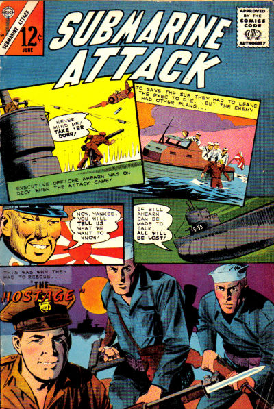 Cover for Submarine Attack (Charlton, 1958 series) #50