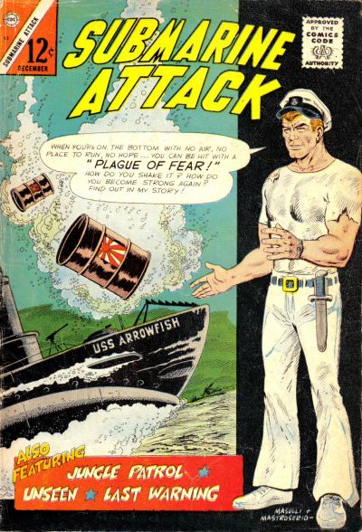 Cover for Submarine Attack (Charlton, 1958 series) #53
