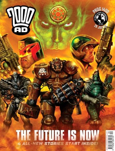 Cover for 2000 AD (Rebellion, 2001 series) #1400
