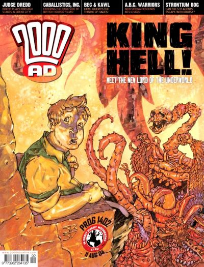 Cover for 2000 AD (Rebellion, 2001 series) #1402