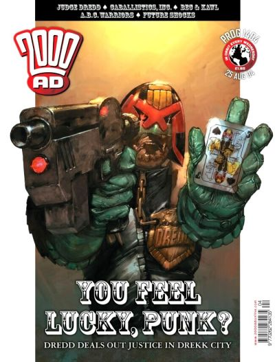 Cover for 2000 AD (Rebellion, 2001 series) #1404