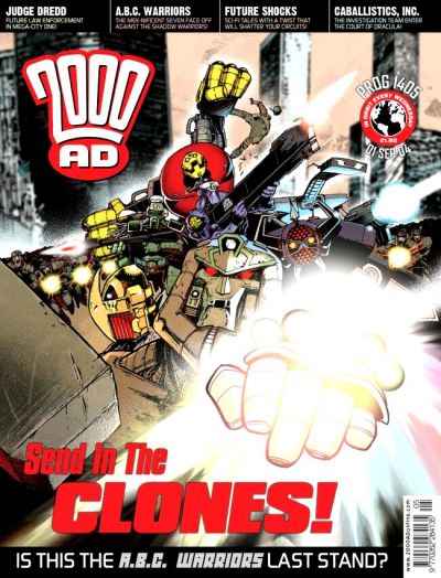 Cover for 2000 AD (Rebellion, 2001 series) #1405