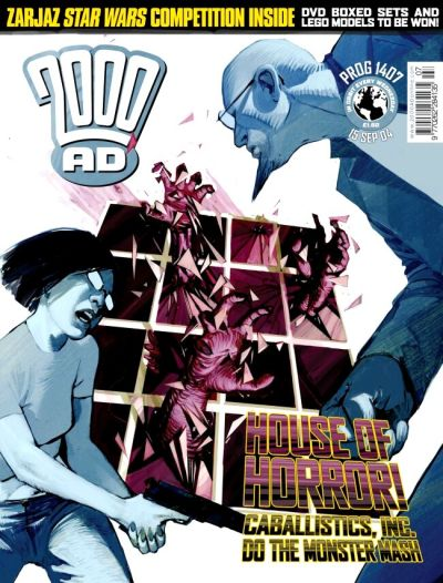 Cover for 2000 AD (Rebellion, 2001 series) #1407