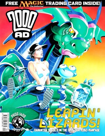 Cover for 2000 AD (Rebellion, 2001 series) #1409