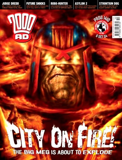 Cover for 2000 AD (Rebellion, 2001 series) #1410