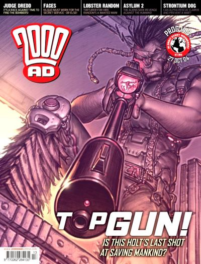 Cover for 2000 AD (Rebellion, 2001 series) #1413