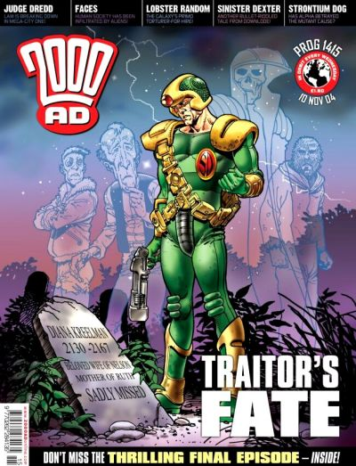 Cover for 2000 AD (Rebellion, 2001 series) #1415