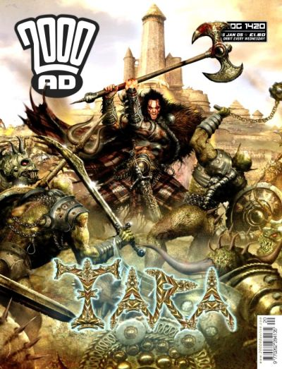 Cover for 2000 AD (Rebellion, 2001 series) #1420