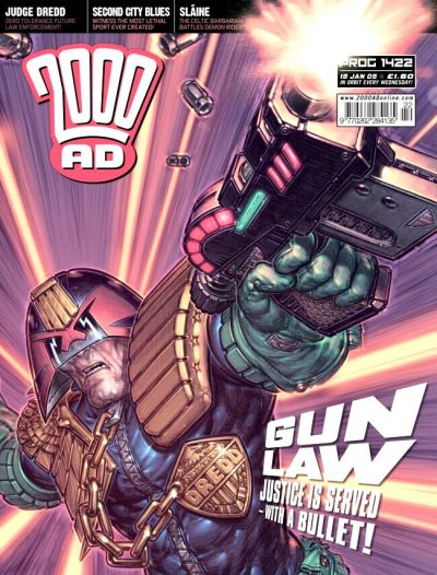Cover for 2000 AD (Rebellion, 2001 series) #1422