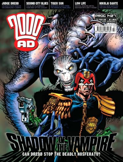 Cover for 2000 AD (Rebellion, 2001 series) #1427