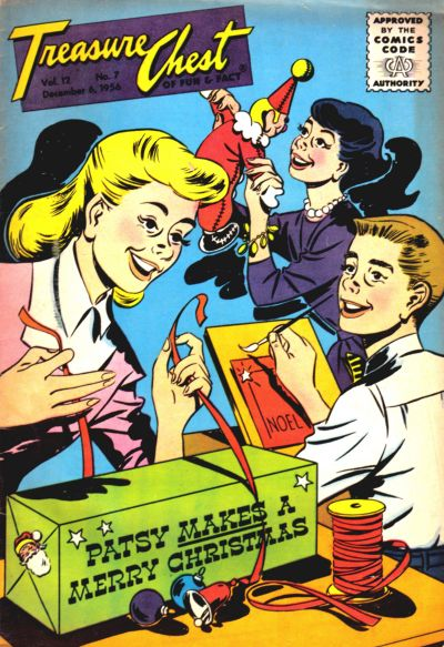 Cover for Treasure Chest of Fun and Fact (George A. Pflaum, 1946 series) #v12#7 [213]