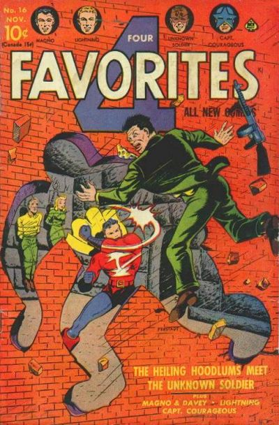 Cover for Four Favorites (Ace Magazines, 1941 series) #16