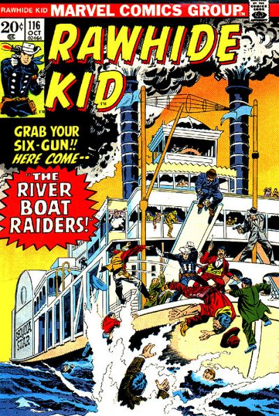 Cover for The Rawhide Kid (Marvel, 1960 series) #116