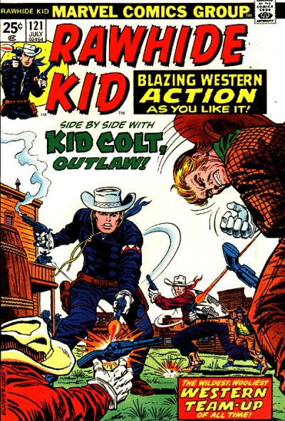 Cover for The Rawhide Kid (Marvel, 1960 series) #121