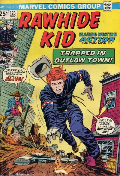 Cover for The Rawhide Kid (Marvel, 1960 series) #123