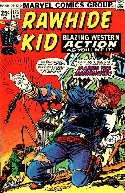 Cover for The Rawhide Kid (Marvel, 1960 series) #126