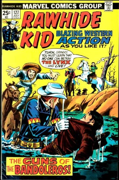 Cover for The Rawhide Kid (Marvel, 1960 series) #127