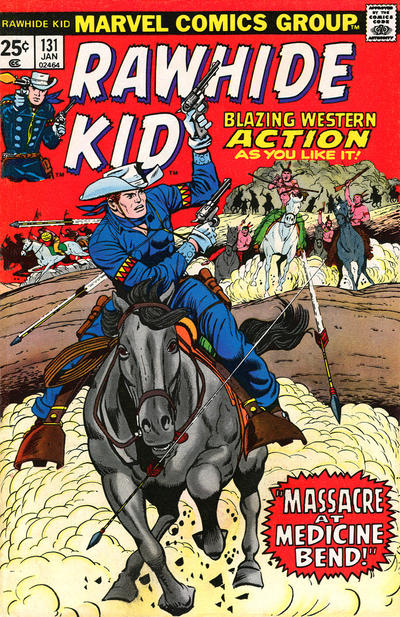 Cover for The Rawhide Kid (Marvel, 1960 series) #131