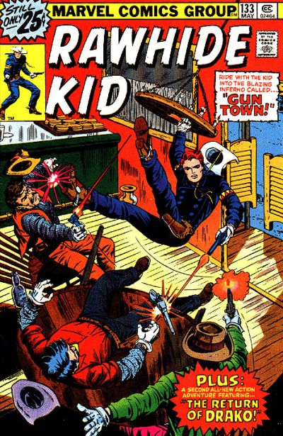 Cover for The Rawhide Kid (Marvel, 1960 series) #133