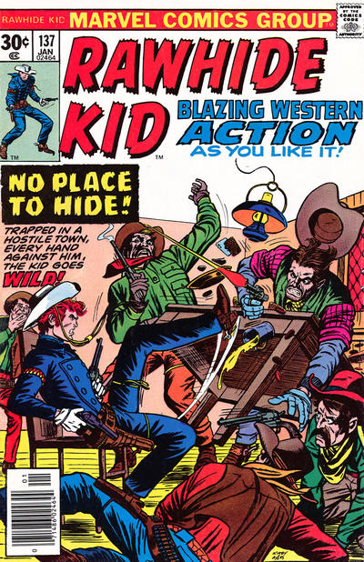 Cover for The Rawhide Kid (Marvel, 1960 series) #137