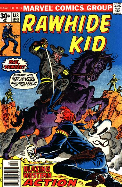 Cover for The Rawhide Kid (Marvel, 1960 series) #138