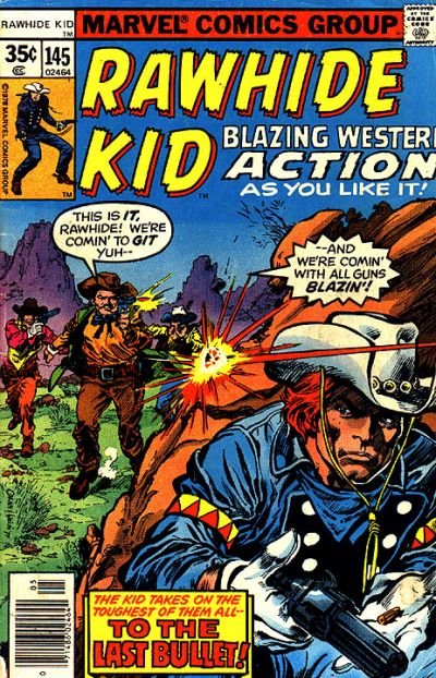 Cover for The Rawhide Kid (Marvel, 1960 series) #145