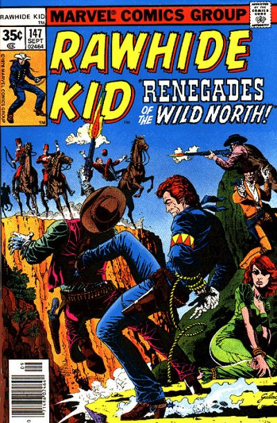 Cover for The Rawhide Kid (Marvel, 1960 series) #147