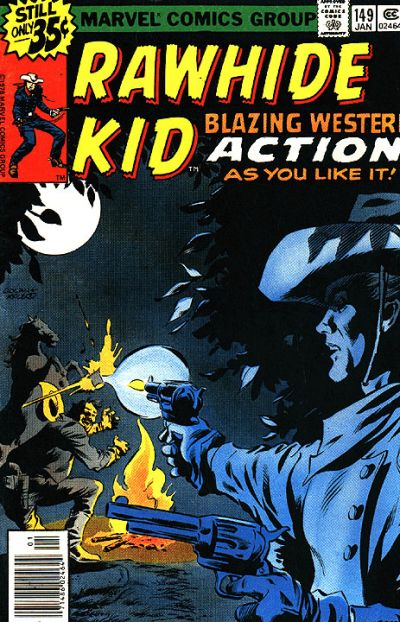 Cover for The Rawhide Kid (Marvel, 1960 series) #149