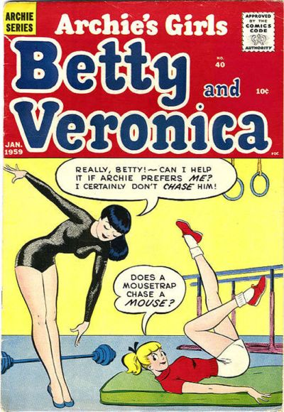 Cover for Archie's Girls Betty and Veronica (Archie, 1950 series) #40
