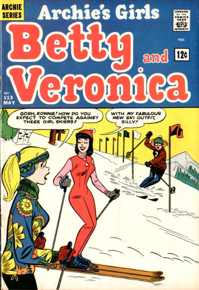 Cover for Archie's Girls Betty and Veronica (Archie, 1950 series) #113