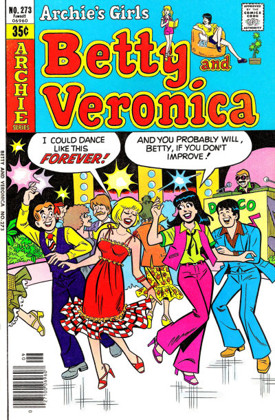 Cover for Archie's Girls Betty and Veronica (Archie, 1950 series) #273