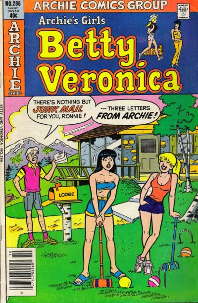 Cover for Archie's Girls Betty and Veronica (Archie, 1950 series) #286