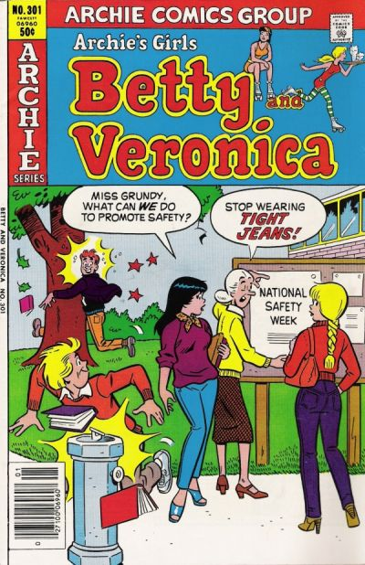 Cover for Archie's Girls Betty and Veronica (Archie, 1950 series) #301