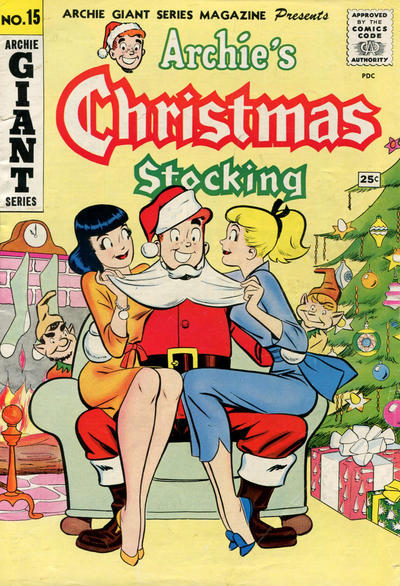 Cover for Archie Giant Series Magazine (Archie, 1954 series) #15