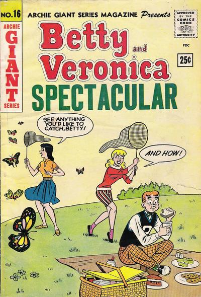 Cover for Archie Giant Series Magazine (Archie, 1954 series) #16