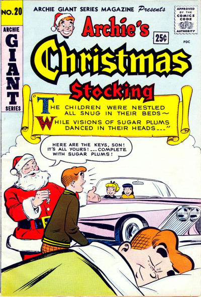 Cover for Archie Giant Series Magazine (Archie, 1954 series) #20