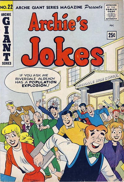 Cover for Archie Giant Series Magazine (Archie, 1954 series) #22