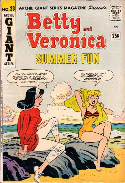 Cover for Archie Giant Series Magazine (Archie, 1954 series) #23