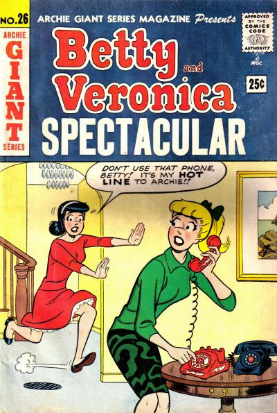 Cover for Archie Giant Series Magazine (Archie, 1954 series) #26