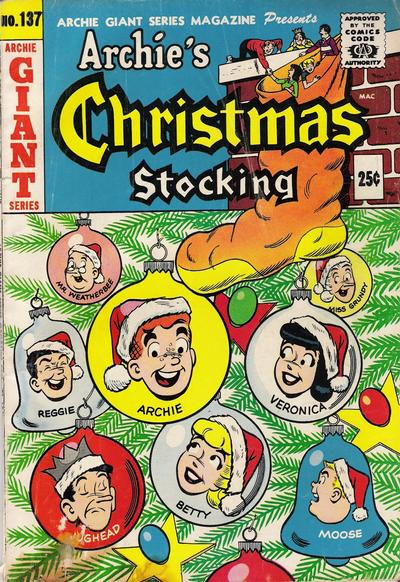 Cover for Archie Giant Series Magazine (Archie, 1954 series) #137