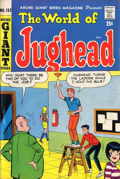 Cover for Archie Giant Series Magazine (Archie, 1954 series) #152