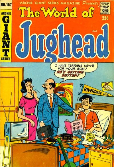 Cover for Archie Giant Series Magazine (Archie, 1954 series) #157