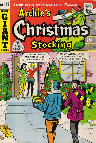 Cover for Archie Giant Series Magazine (Archie, 1954 series) #158